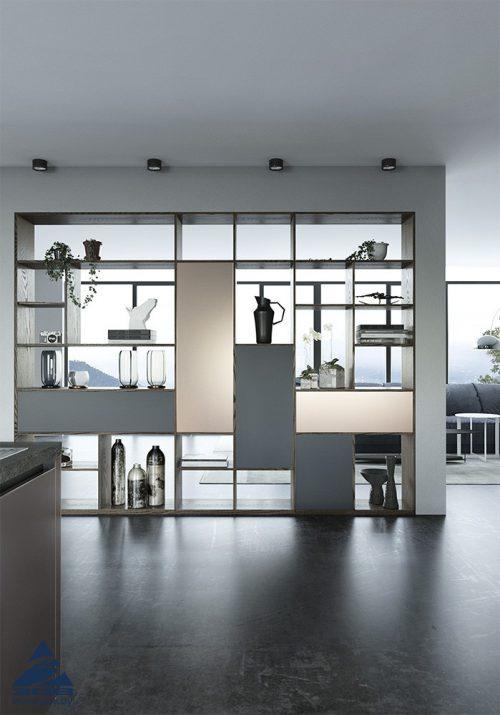 Кухня из стекла фабрики ЗОВ