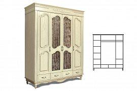 Шкаф для одежды 4д БМ-1935